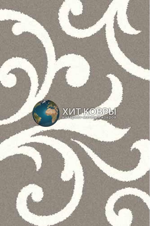 Российский ковер прямоугольный Platinum t644 серый natural