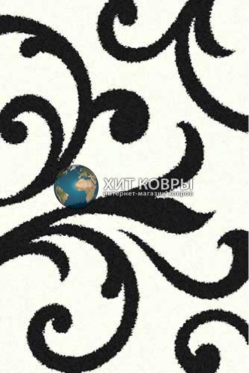 Российский ковер прямоугольный Platinum t644 natural черный
