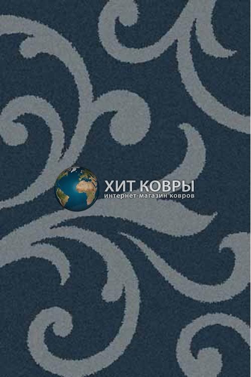 Российский ковер прямоугольный Platinum t644 морской волны