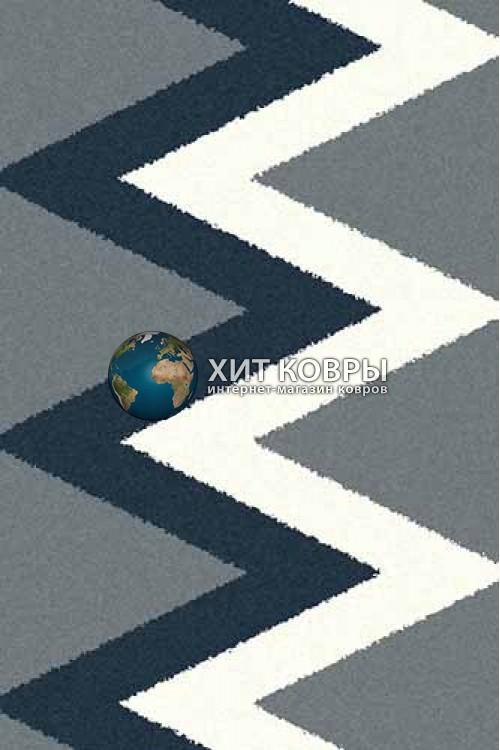 Российский ковер прямоугольный Platinum t645 голубой