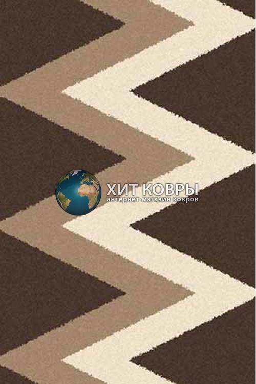 Российский ковер прямоугольный Platinum t645 коричневый
