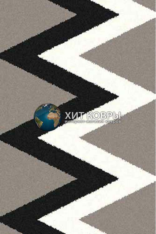 Российский ковер прямоугольный Platinum t645 серый