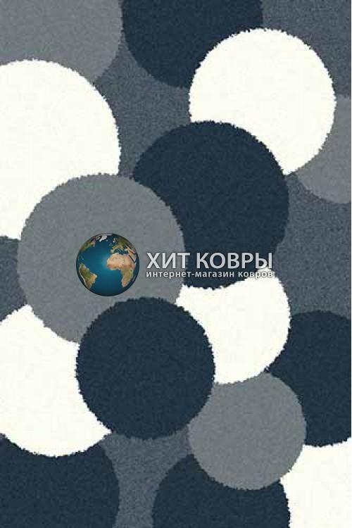 Российский ковер прямоугольный Platinum t646 голубой