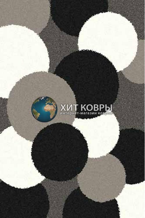Российский ковер прямоугольный Platinum t646 серый