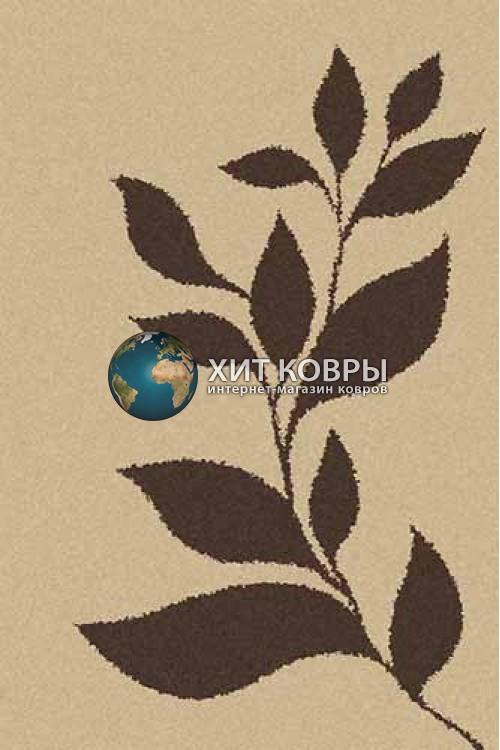 Российский ковер прямоугольный Platinum t647 бежевый коричневый