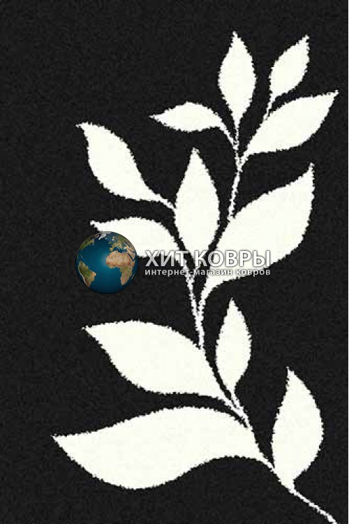 Российский ковер прямоугольный Platinum t647 черный natural