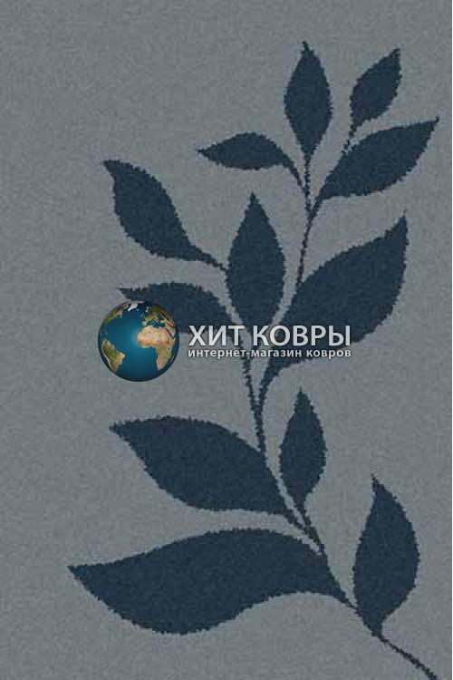 Российский ковер прямоугольный Platinum t647 голубой бирюзовый