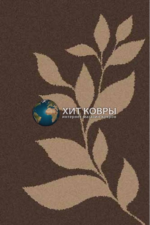 Российский ковер прямоугольный Platinum t647 коричневый d