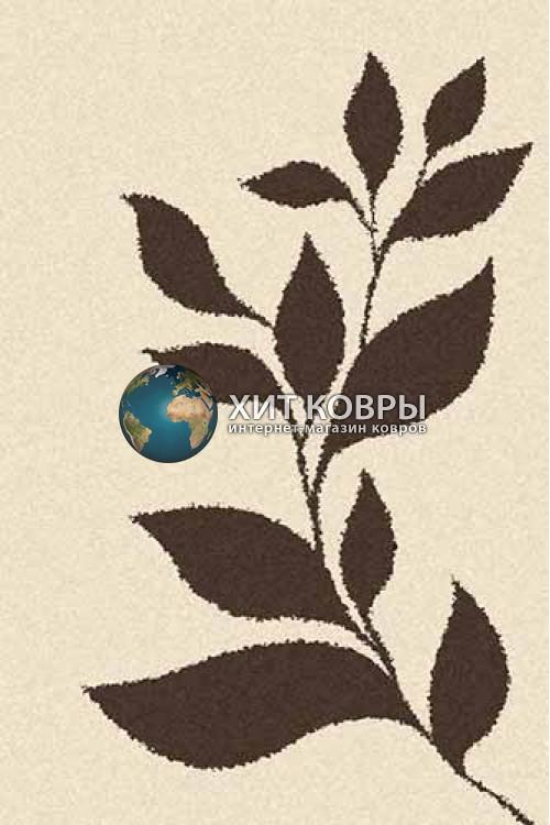 Российский ковер прямоугольный Platinum t647 кремовый коричневый