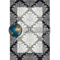Российский ковер prymougolnik-silver-d213_gray