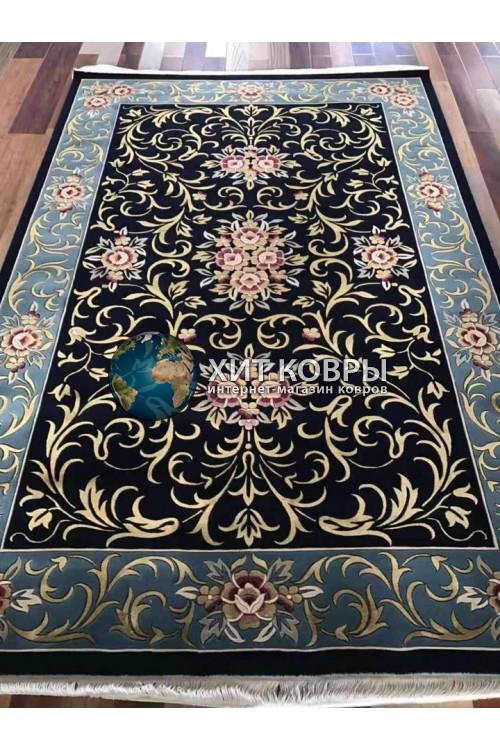 Китайский ковер Viccini-Black-Blue
