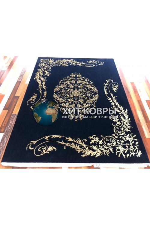 Китайский ковер Viccini-Black-gold