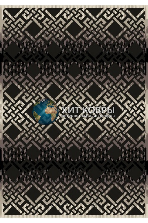 Турецкий ковер B624 Black
