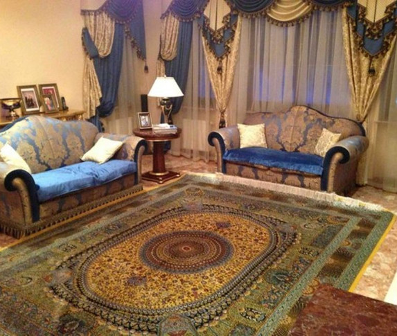 Китайские ковры. Шерсть. Шерсть+шёлк